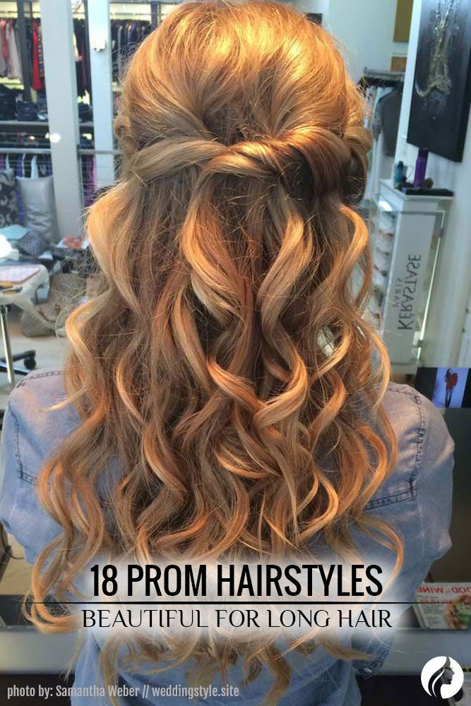 68 Stunning Prom Hairstyles For Long Hair For 2021 | Hair ...
