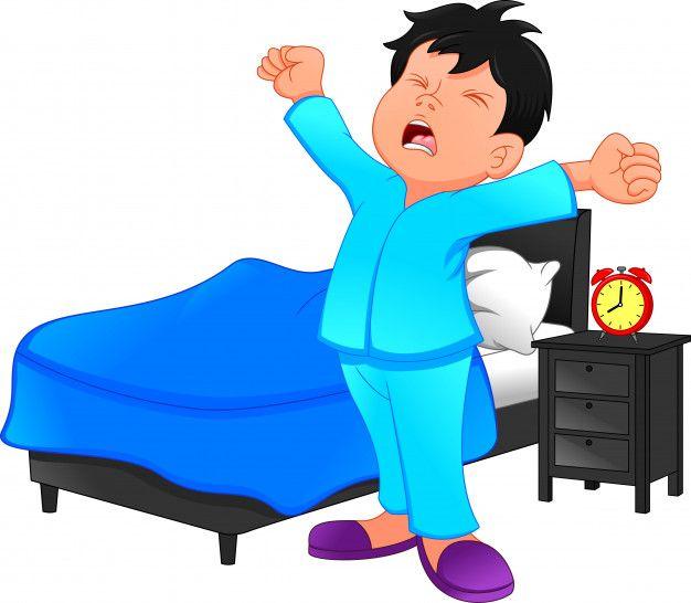 50++ Wake up clipart boy information