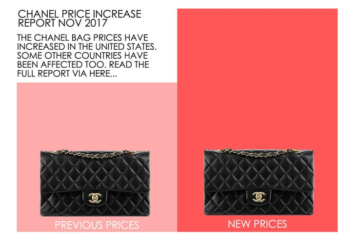 Chanel Price Increase In The US. Did they increase the prices of the Classic Bags, The Boy Bags or the Classic Wallets? Read more here...
