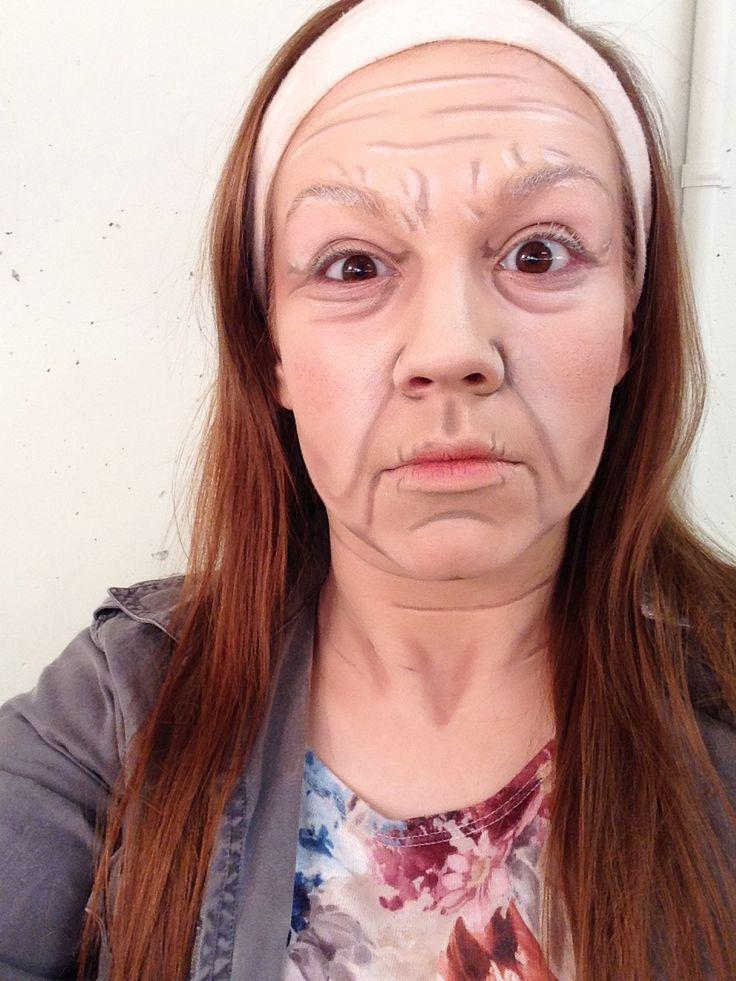 Stage Makeup Old Age Old Lady Makeup Old Age Makeup Makeup Wrinkles