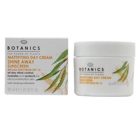 Botanics Shine Away Mattifying Day Cream, SPF15 - 1.69 fl oz