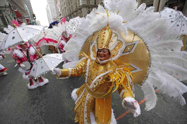 Mummers Parade on New Year's Day