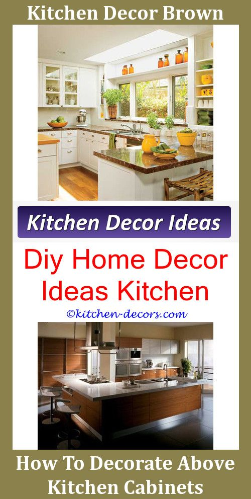 countrykitchendecor how to decorate space over kitchen cabinets rh in pinterest com