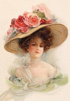 Victorian Lady 3 Cross Stitch Pattern PDF by lisalskinner on Etsy, $3.75