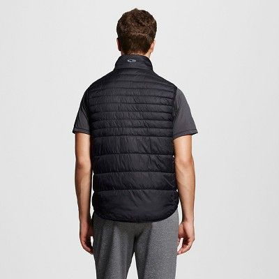 Men's Lightweight Puffer Vest Black 2XL - C9 Champion, Size: Xxl