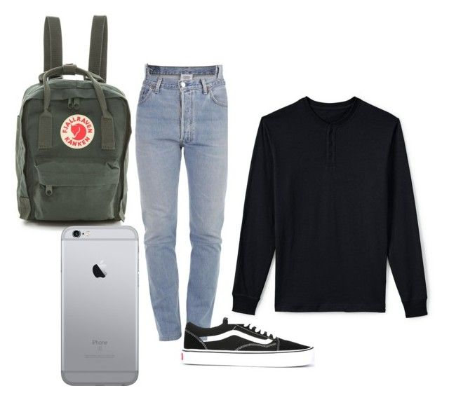 """""""😍"""" by tamas-erdos ❤ liked on Polyvore featuring Vetements, Vans, Lands' End, Fjällräven, men's fashion and menswear"""