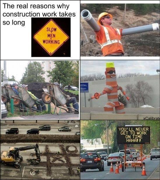 Construction humor Hahahahaha