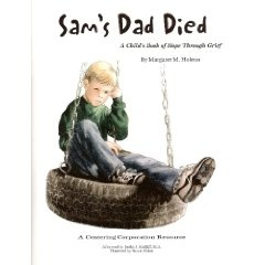 Helping children cope with the death of a father.