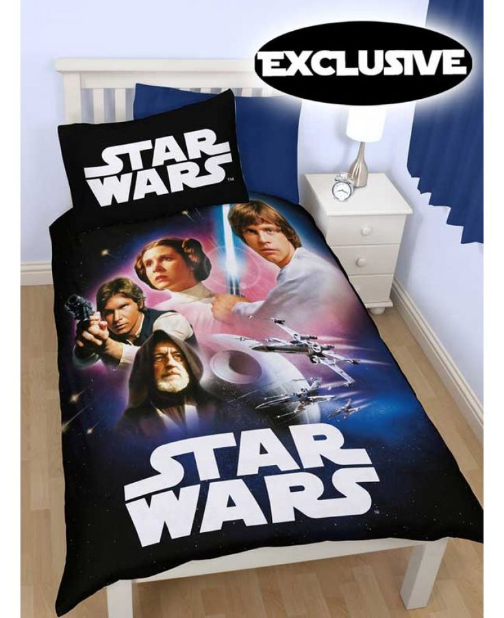 Star Wars Empire Single Duvet Cover - Exclusive Design!