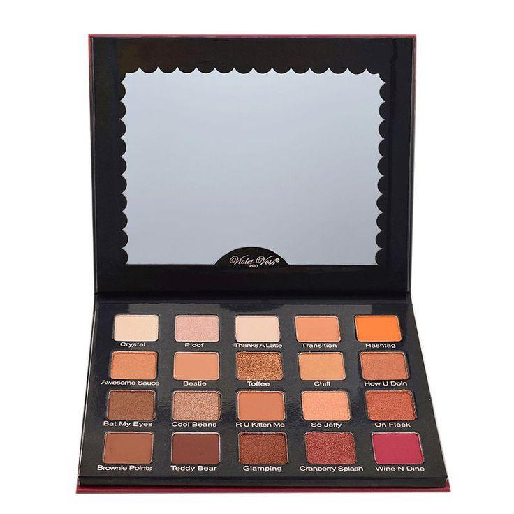 Camera Ready Cosmetics| Violet Voss - Holy Grail Eyeshadow Palette #haircareadventcalendar,