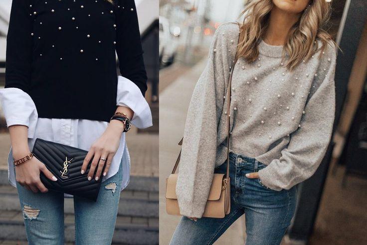 """Hey Fashionista, wurden Perlen nicht immer nur als Schmuck getragen? Als Armband, Kette oder auch als Ohrring? Moment mal … das war doch eigentlich eher Oma-Style, oder nicht? Genau, das war es – und auf """"war"""" liegt hier die Betonung. Perlen sind das neue Mode i-Tüpfelchen auf eurer Kleidung! Schon im Sommer 2017 wurden Perlen …"""