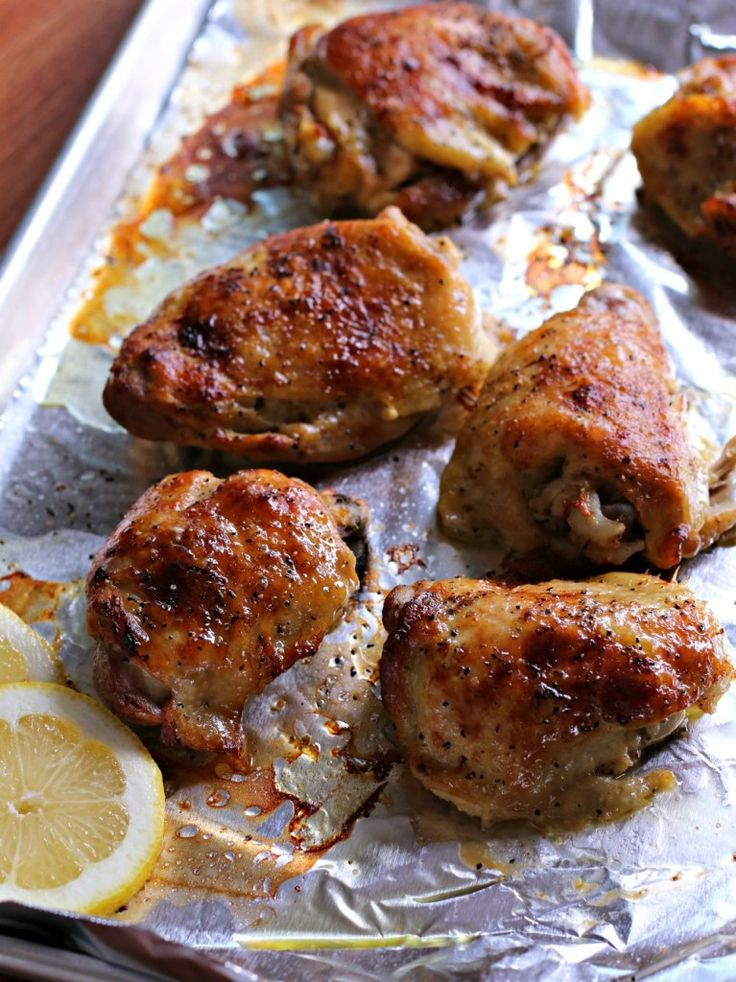 Lemon Pepper Chicken Thighs - The Magical Slow CookerThe Magical Slow ...