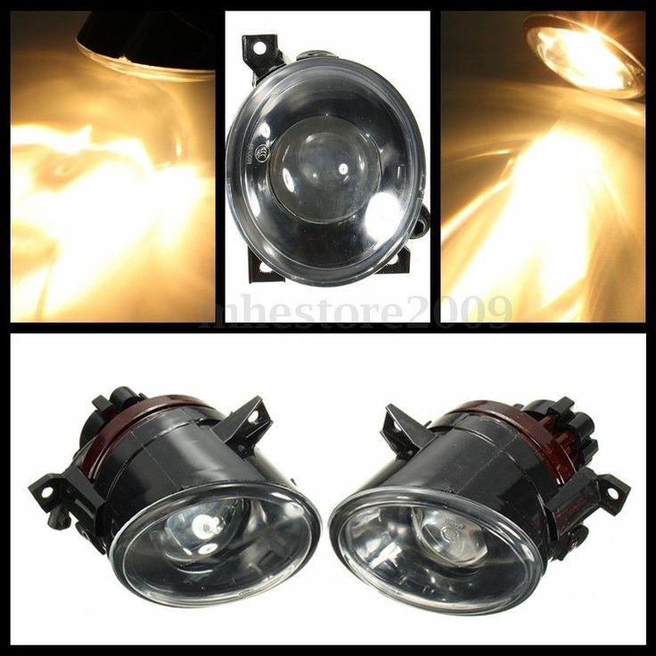 Pair Projector Fog Lights 9006 Bulbs for 2006 2009 VW MK5 GTI 2006 2010 Jetta | eBay
