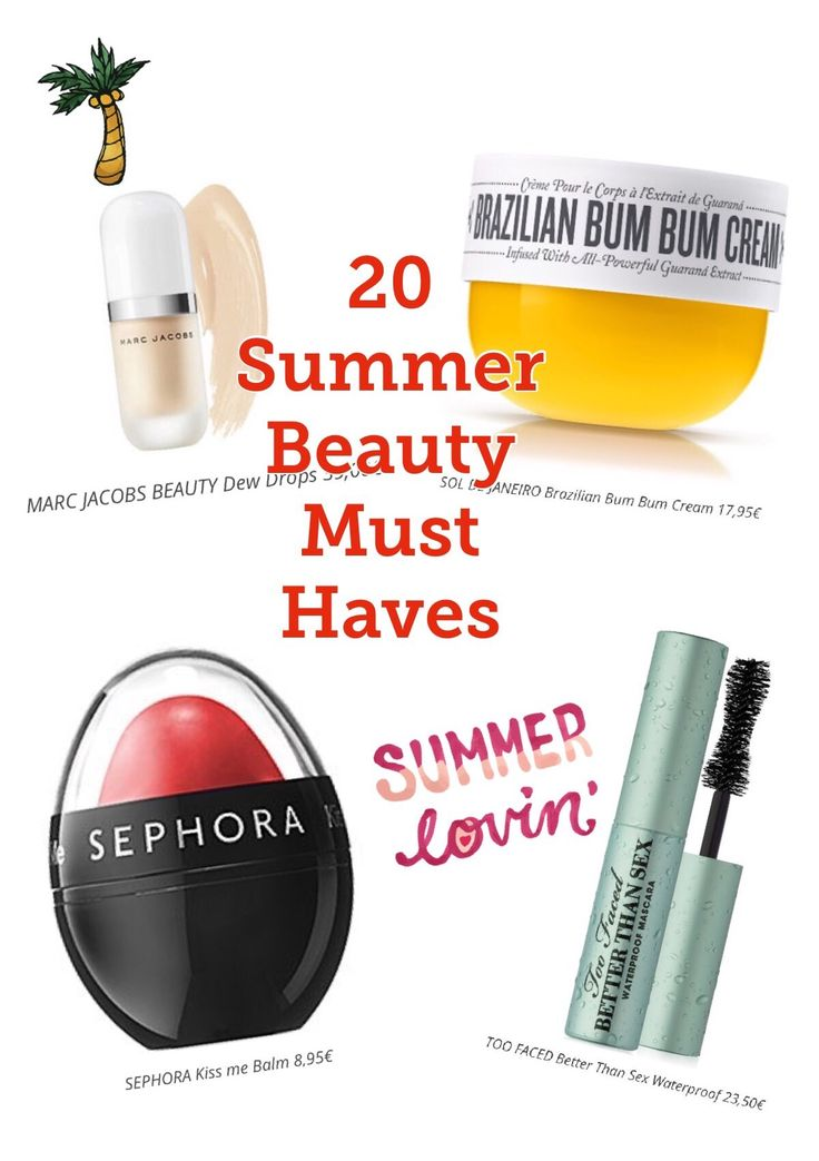 Amazing selection for this season ! 20 Summer Beauty Must Haves!  Incredible products to enjoy and look great this summer
