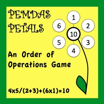 Pemdas on Best Dice Order Of Operations Game Images On Pinterest