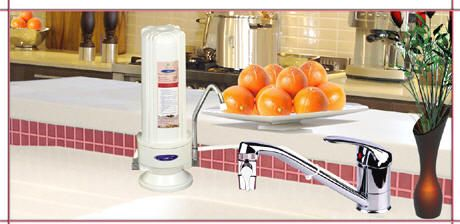 Fluoride, arsenic water filters by Crystal Quest Mfg