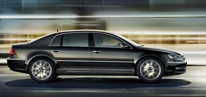 Volkswagen Phaeton: Der Luxuswagen verabschiedet sich vorläufig.