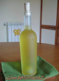 Gambetto nella Zuppa: Liquore di Cedro (Ricetta di Luigi)