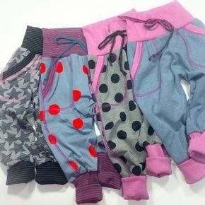 Die Klimperklein Checkerhose ist nicht nur super bequem und ideal für Babies, sondern auch in den großen Größenn richtig cool!