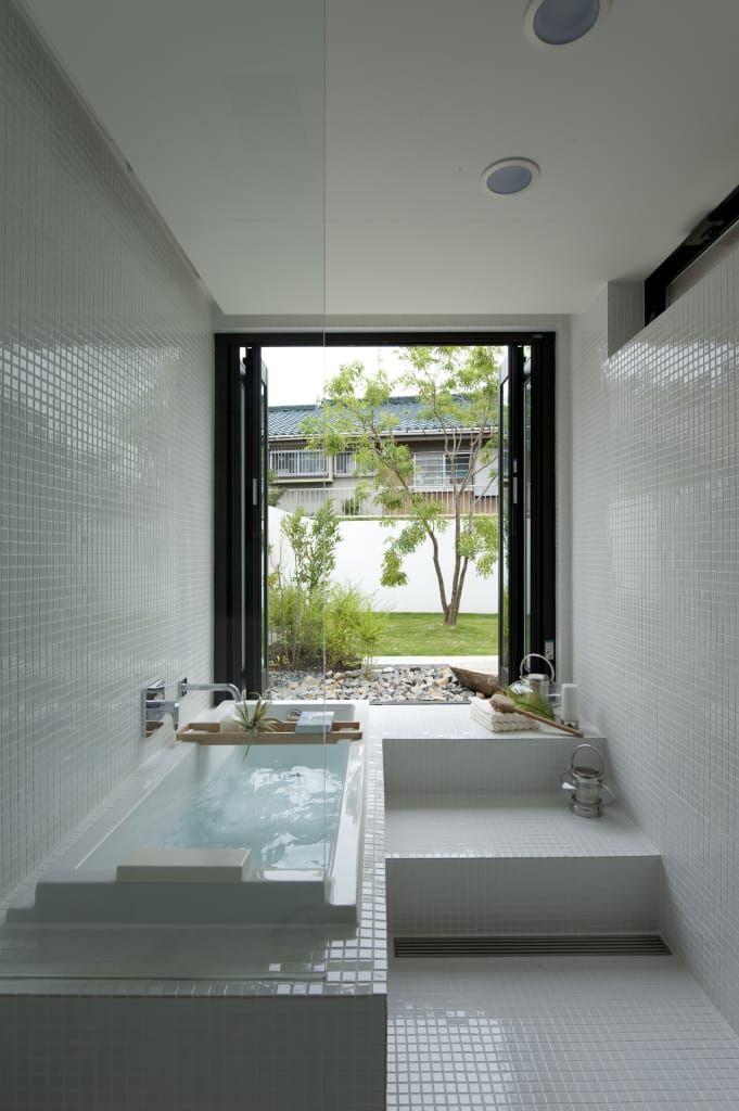 Banos Modernos De Sakurayama Architect Design Moderno Diseno De