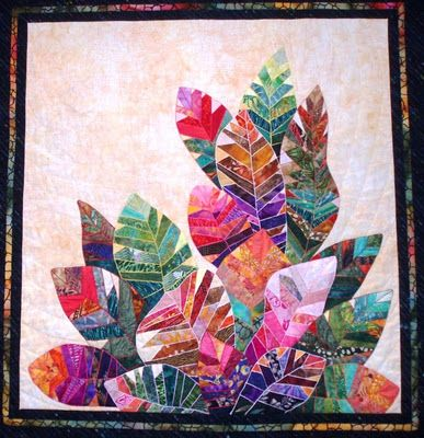 Beautiful use of batik fabric!
