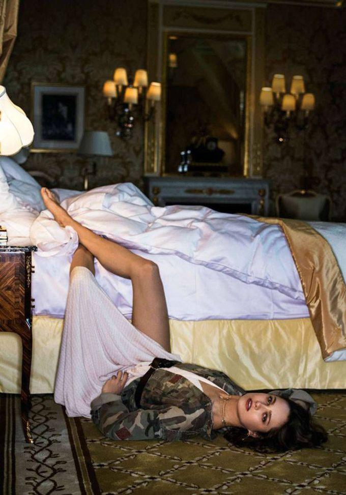 Кармен Педару на обложке французского Elle (Интернет-журнал ETODAY)