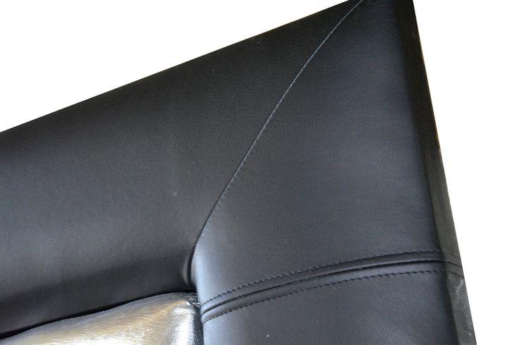 Tablie Pat fixa tapitata in 3 tipuri de Piele naturala de bovina si imitatie piele strut si pisica de mare