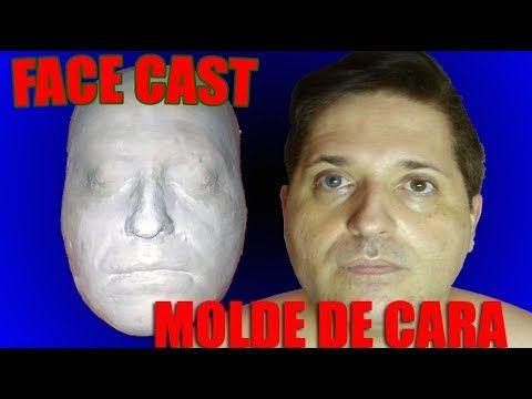 DIY FACECAST O MOLDE DE LA CARA FÁCIL #FACECAST