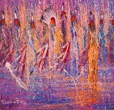 JoAnne Bird impressionistic First Nation artist