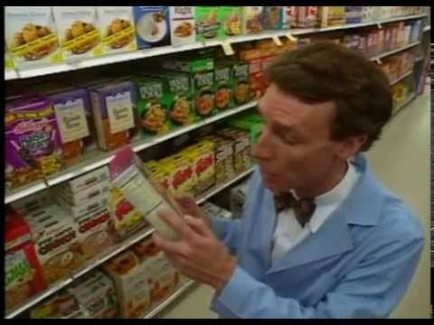 Bill Nye The Science Guy & Nutrition & Full Episode - YouTube