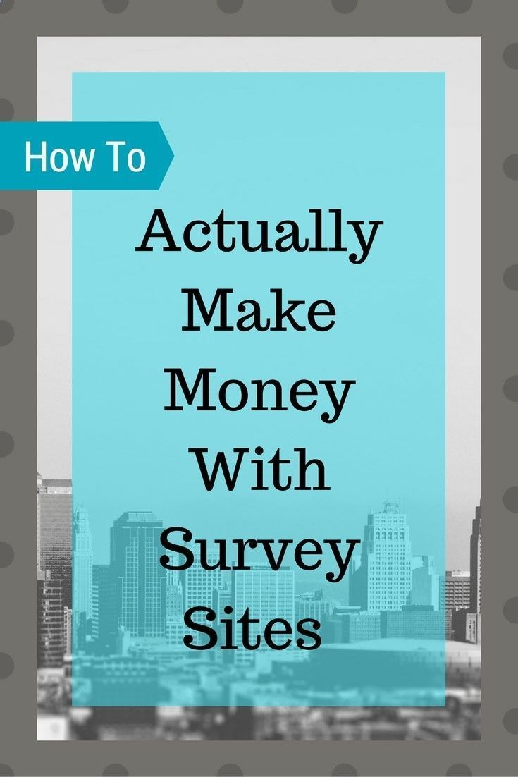 earn money online from home how to actually make money with survey