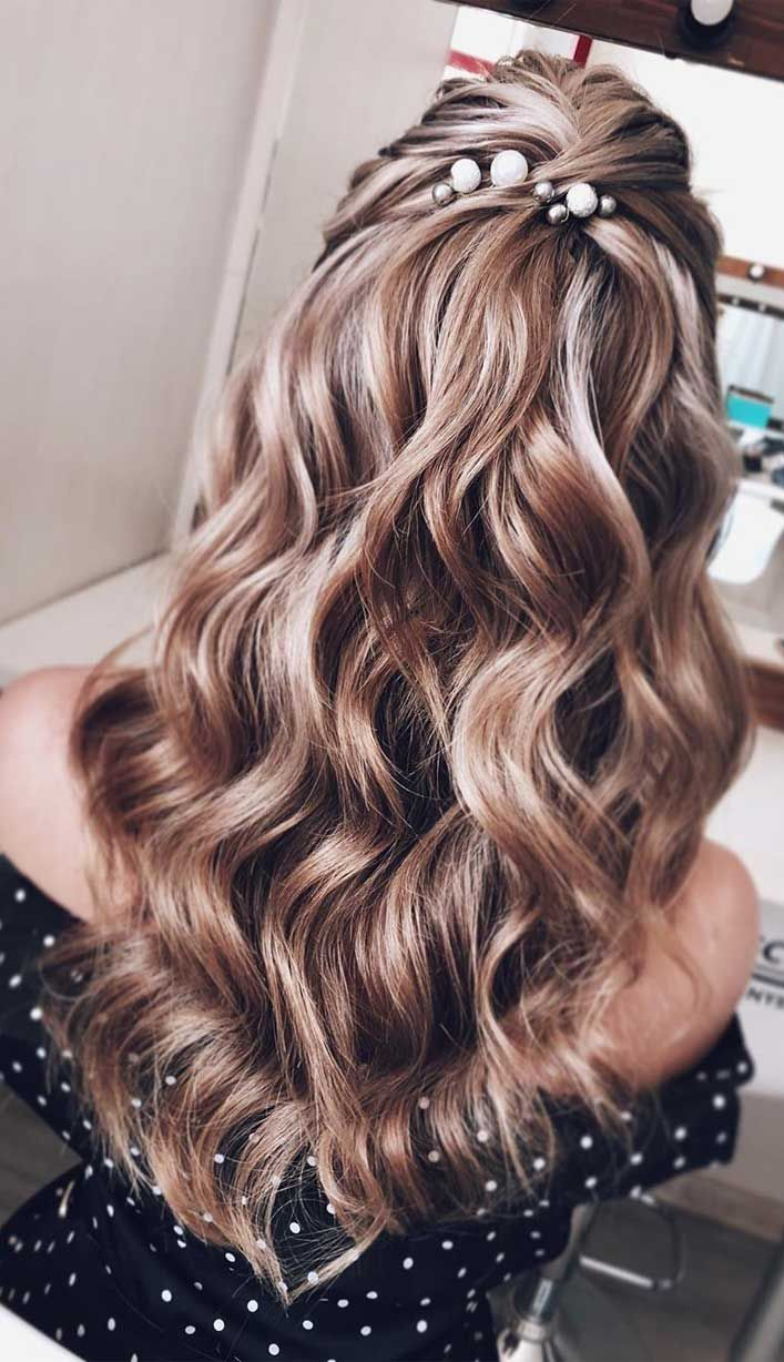 43 Gorgeous Half Up Half Down Hairstyles That Perfect For A