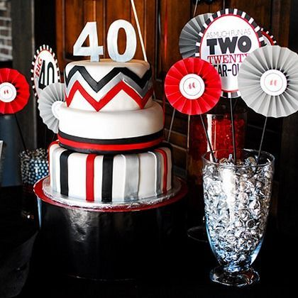 108 best 40th Bday images on Pinterest 40 years Black white