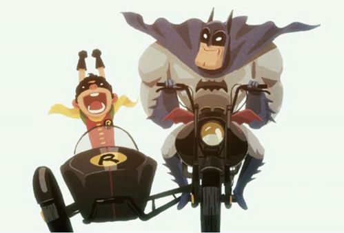 Sidecar: Stuff, Awesome, Comic, Maxim Mary, Secret Nerdy, Illustration, Batman Things, Geeky Heart, Robins