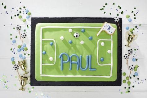 Kuchen, Fußball, Kindergeburtstag, Tambini.de, Food: Sarah Brandt
