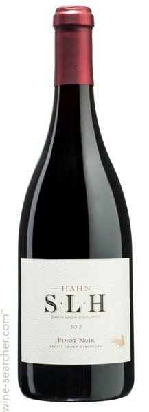 Hahn 'SLH' Estates Pinot Noir, Santa Lucia Highlands, USA