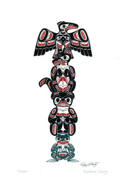 Totem native art