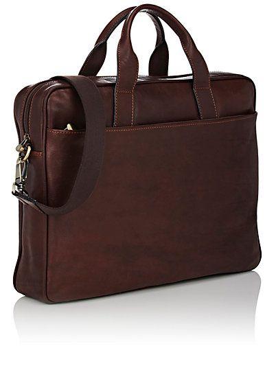 Barneys New York Leather Briefcase -  - 504024252