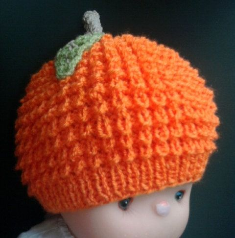 orange soft  knitted hat for baby от BaByPrOdUcTsByGaLiNa на Etsy