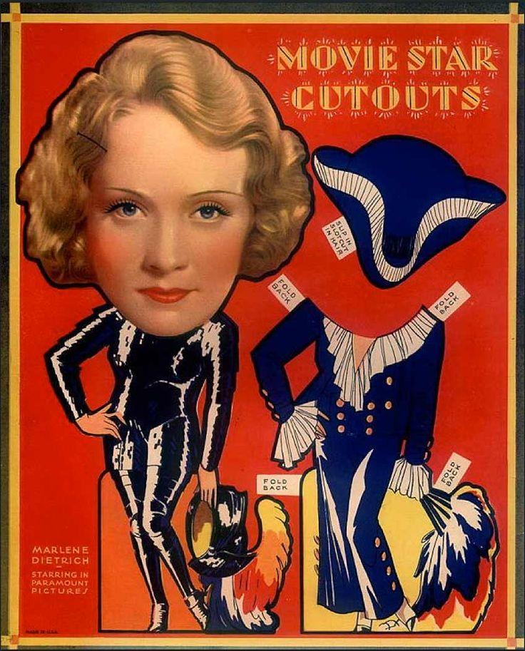 Marlene Dietrich Additional Biography
