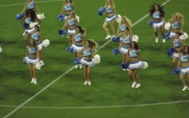 Cheerleaders-Napoli, Video prepartita con il Benfica #Calcio
