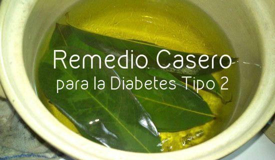 Laurel diabetes de hojas para