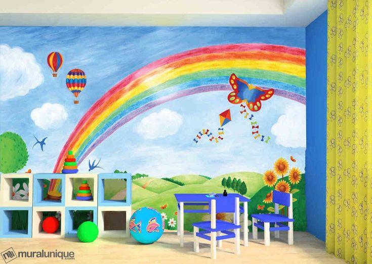17 meilleures idées à propos de Mur Arc En Ciel sur Pinterest  Arc en ciel d