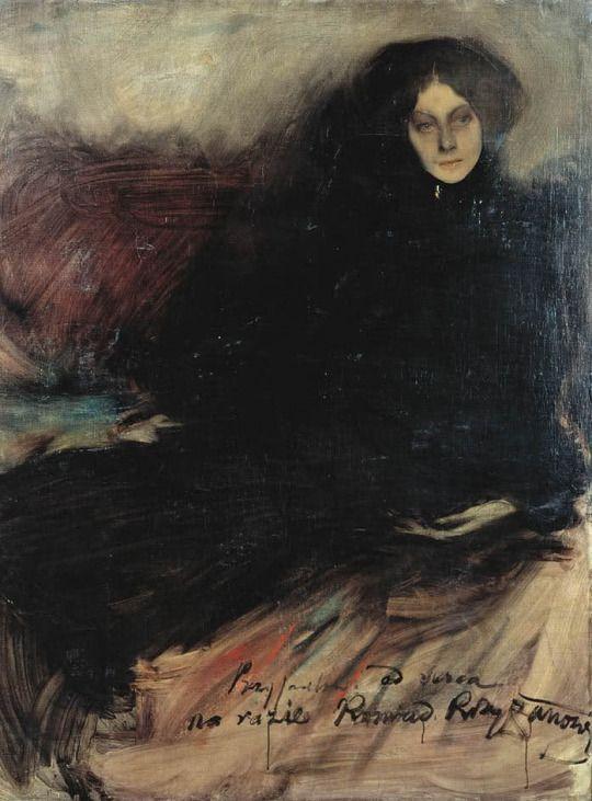 Konrad Krzyżanowski     Portrait of a Russian actress