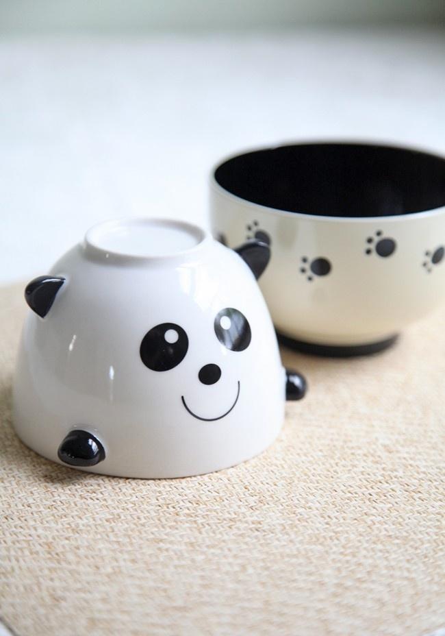 Playful Panda Stacked Bowl Set. So cute!!!