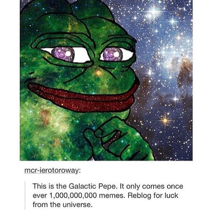 tag friends who should get luck from the universe loll