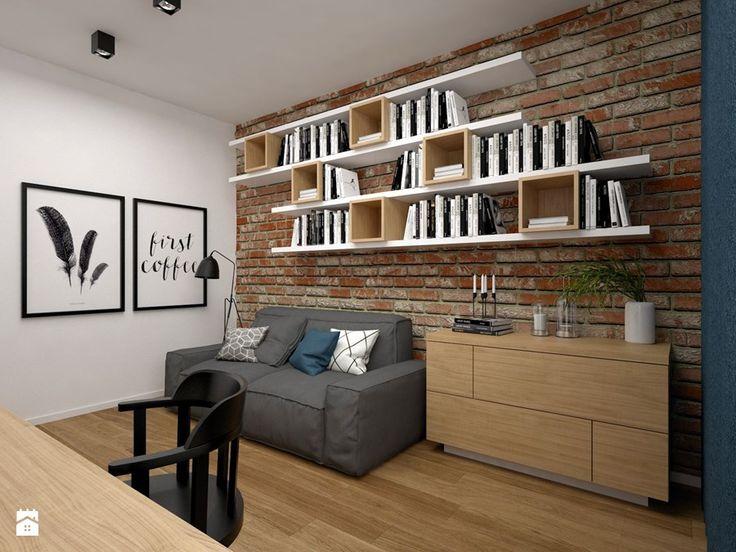 Mieszkanie - 85 m2 - Biuro, styl skandynawski - zdjęcie od BIG IDEA studio projektowe
