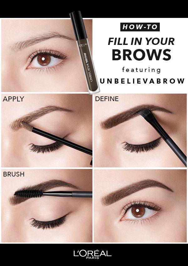 Introducing Lorèal Paris Unbelieva Brow Tinted Brow Makeup