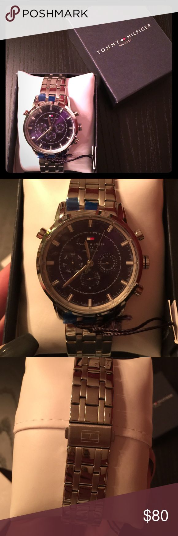 NWT Tommy Hilfiger Men's watch Brand new with the stickers and tag still on. Comes with original packaging. Could be a great Christmas gift!! Tommy Hilfiger Accessories Watches