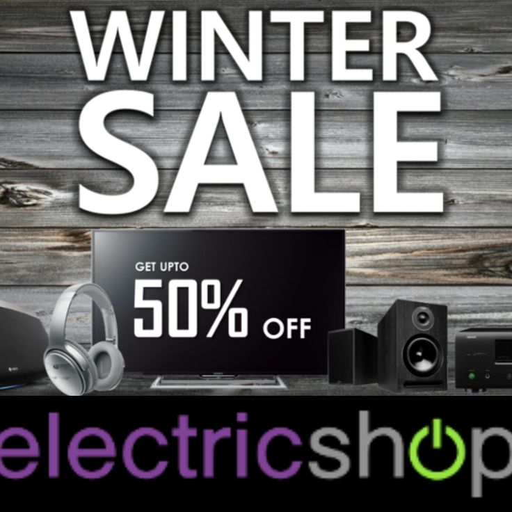 Save up to 50% in the Winter Sale at Electricshop with Extra Savings on Big Brands like Bose, Yamaha, Sonos, Dyson Plus Many More! http://tidd.ly/fc717815